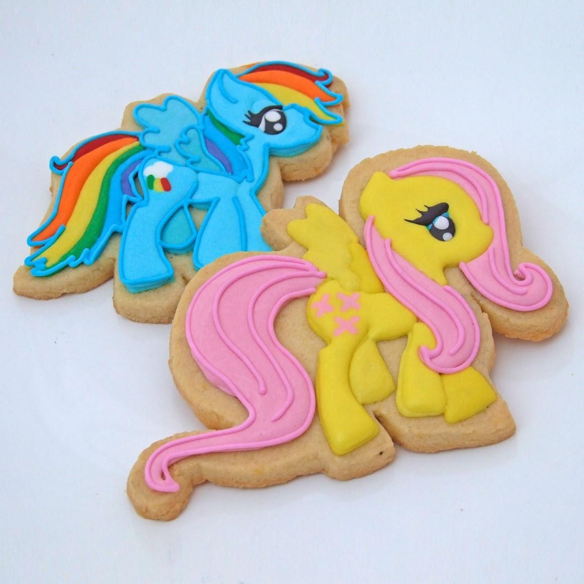 Curso Biscoitos Decorados: My Little Pony