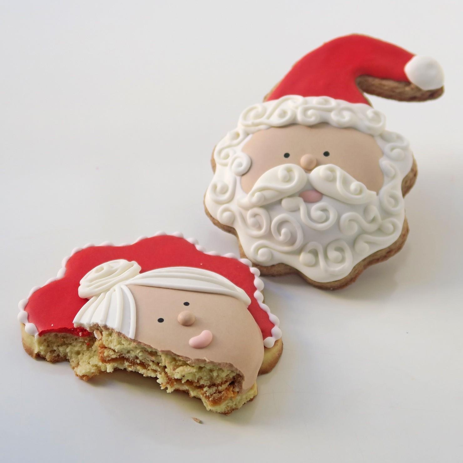 Curso Biscoitos Decorados: Natalinos com Relevo e Recheio Invisível