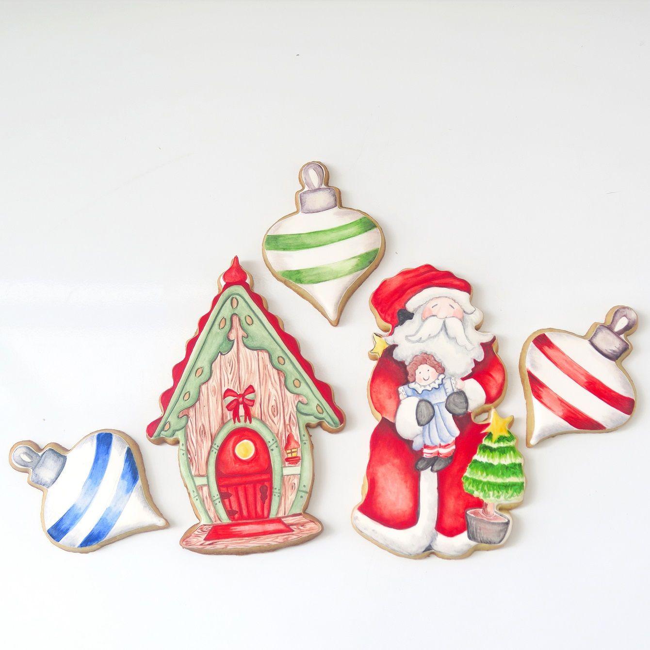 Curso Biscoitos Decorados: Natalinos em Pastel Seco