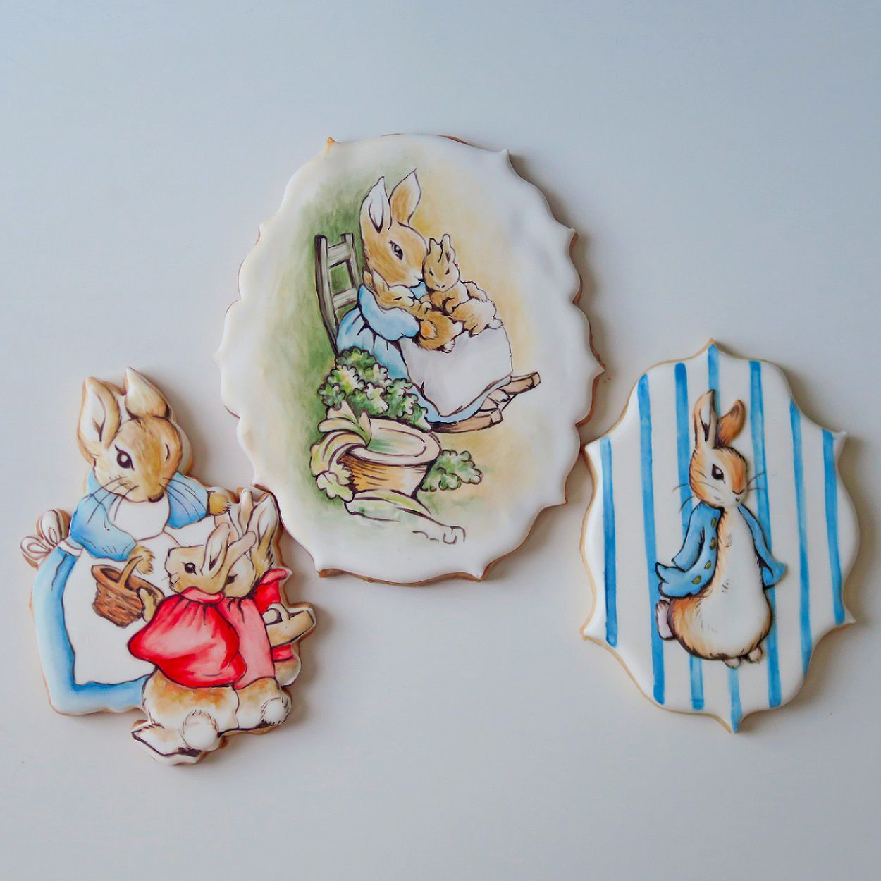 Curso Biscoitos Decorados: Pastel Seco Beatrix Potter