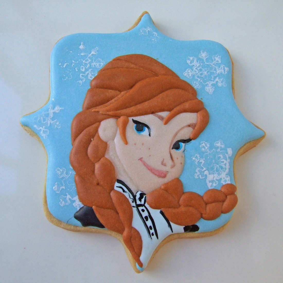 Curso Biscoitos Decorados: Princesas Frozen