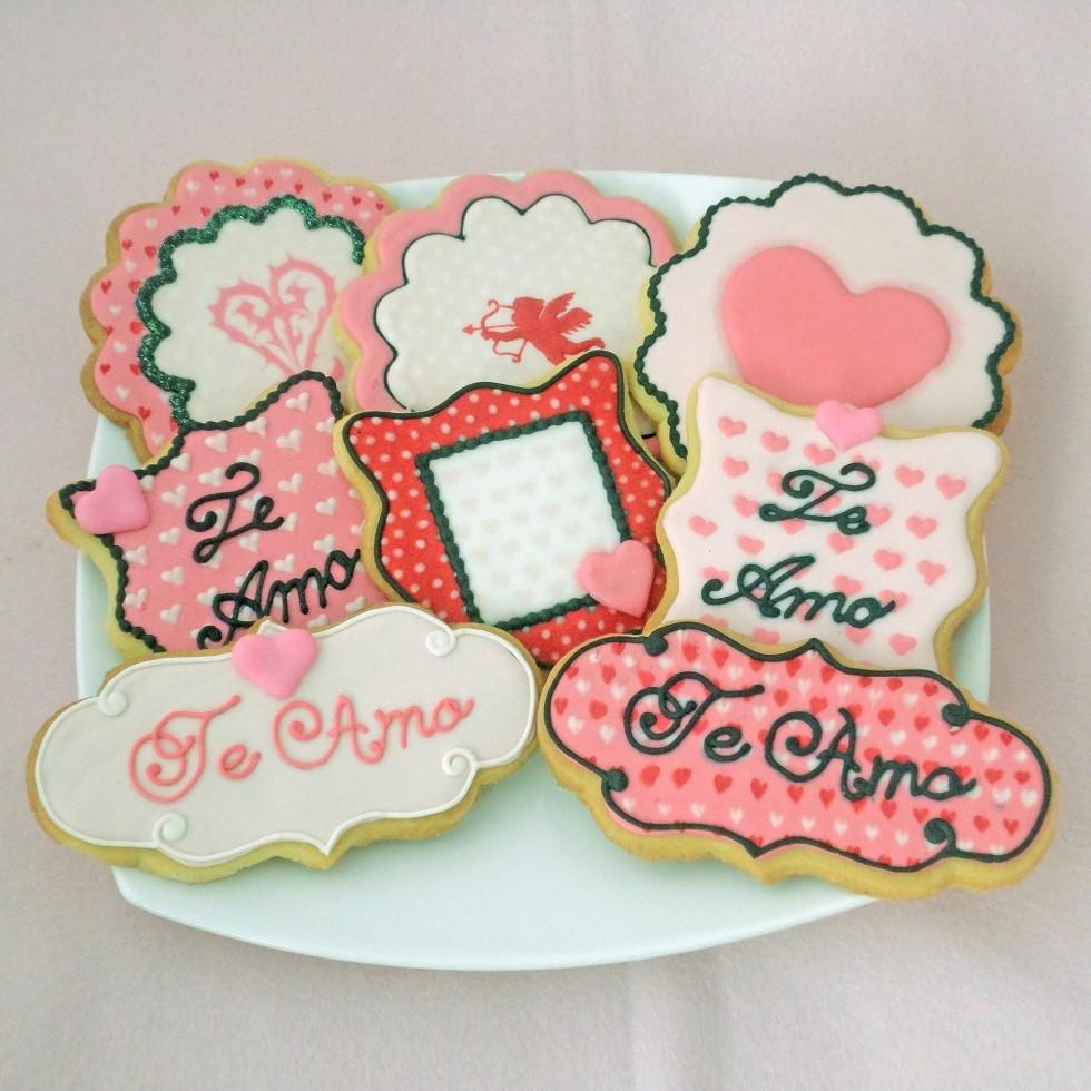 Curso Biscoitos Decorados: Scrapbook Romântico
