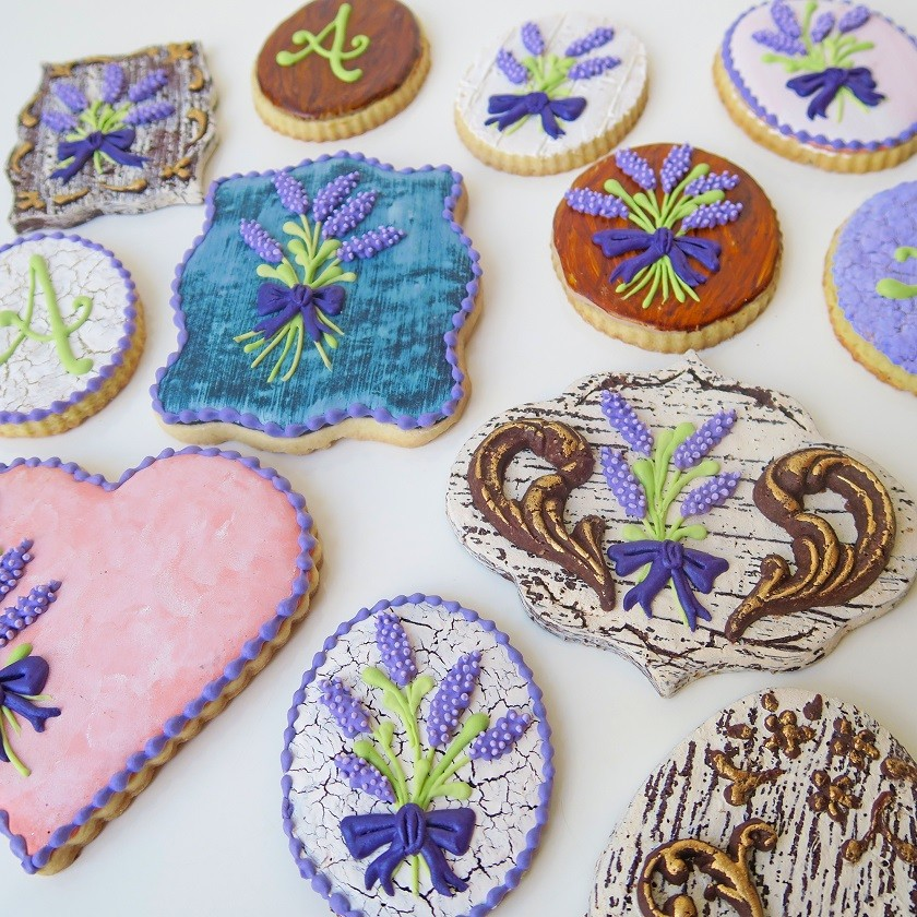 Curso Biscoitos Decorados: Texturas em Biscoitos 1