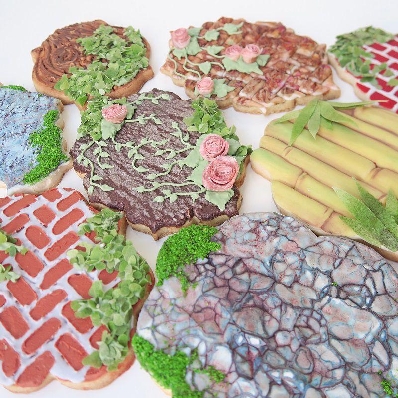 Curso Biscoitos Decorados: Texturas em Biscoitos 2