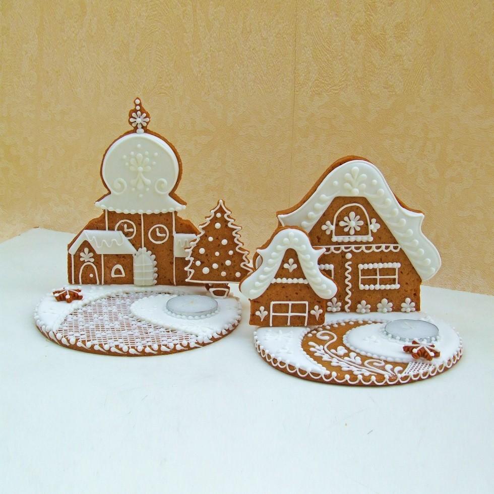 Curso Cenário Natalino 3D de Gingerbread