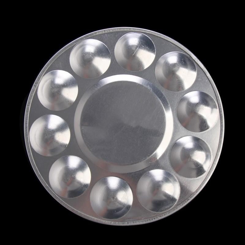Godê de Metal Redondo 10 Cavidades