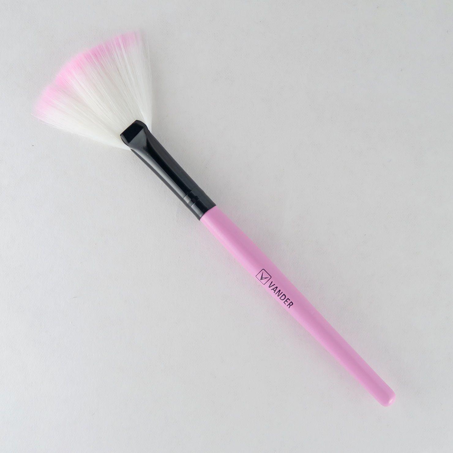 Kit 32 Pincéis para Maquiagem Profissional Vander + Estojo