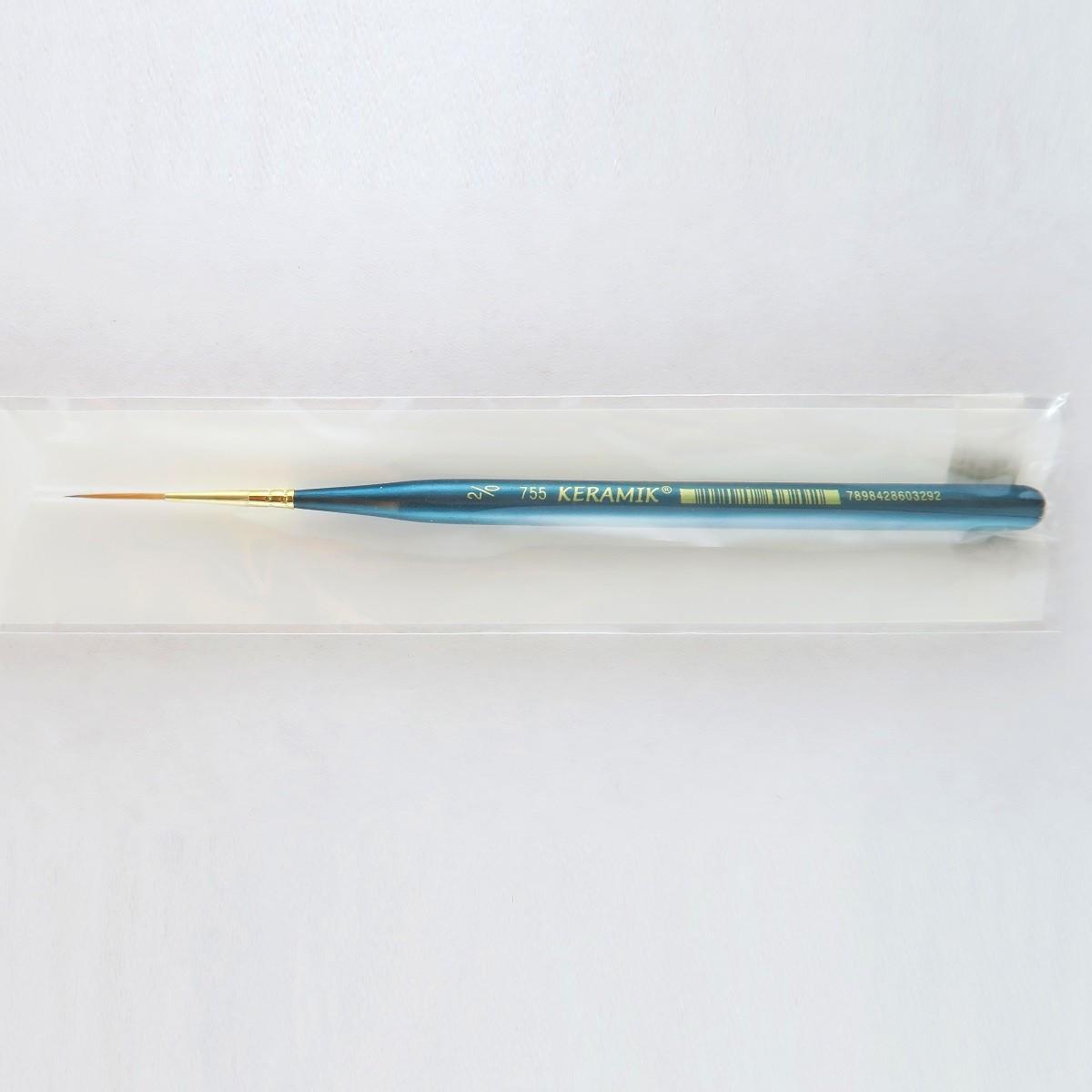 Pincel Keramik Premium 755 Liner #2/0