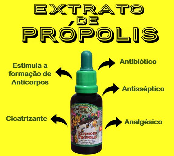 EXTRATO DE PRÓPOLIS - BENEFÍCIOS