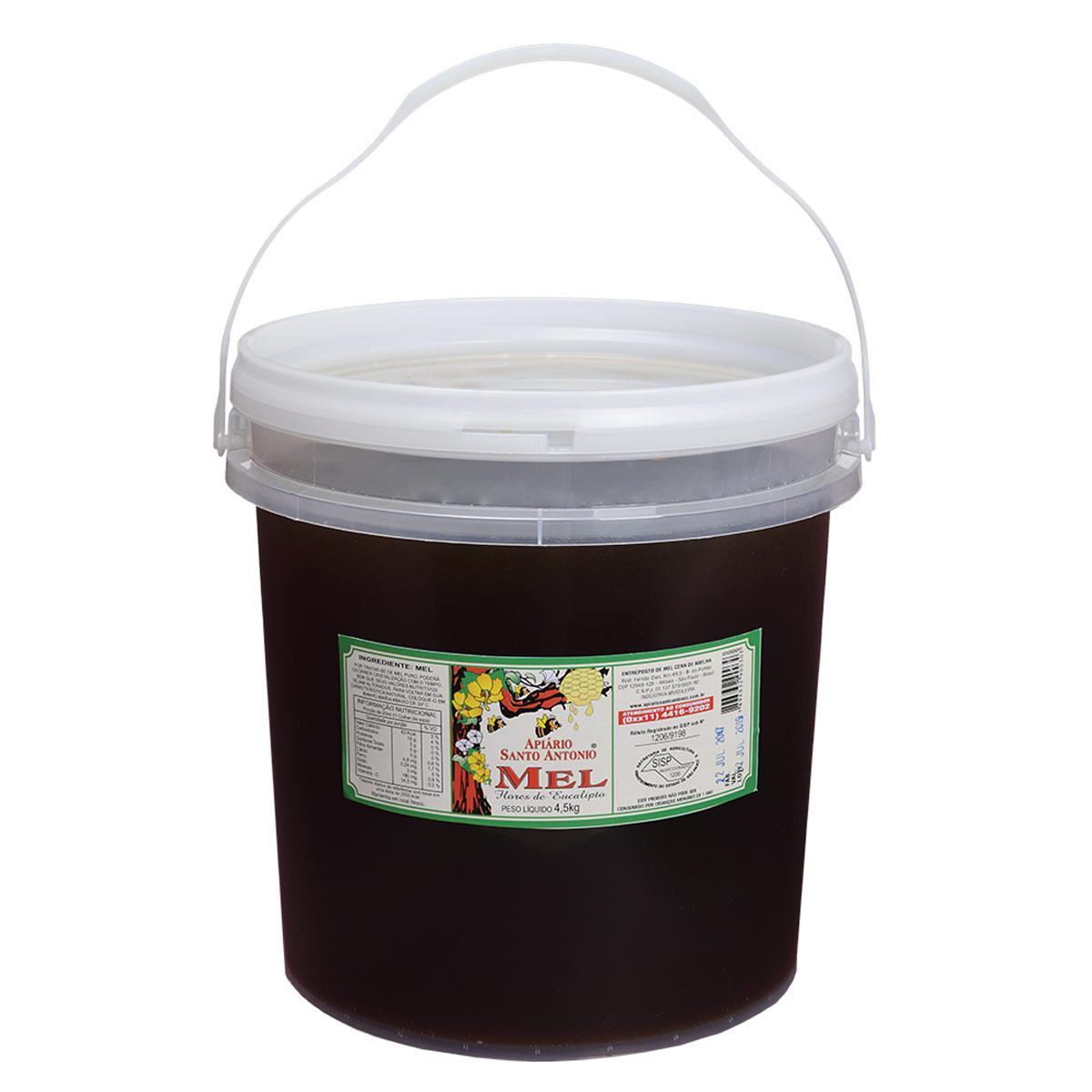 Mel de Flor de Eucalipto em Balde 4,5kg