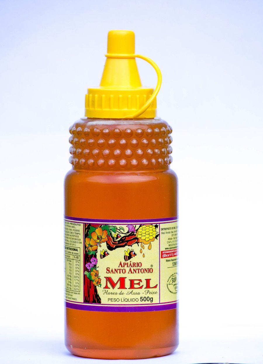 Mel de Flores de Assa Peixe - Bisnaga 500g