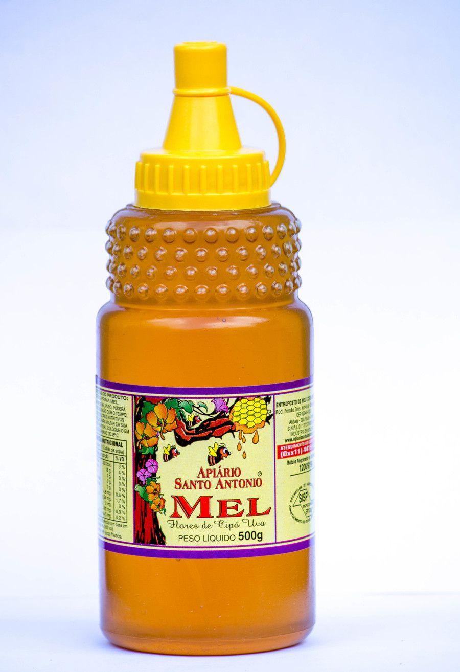 Mel de Flores de Cipó Uva - Bisnaga 500g