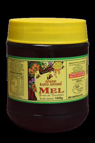 Mel de Flores de Eucalipto - Pote 1kg