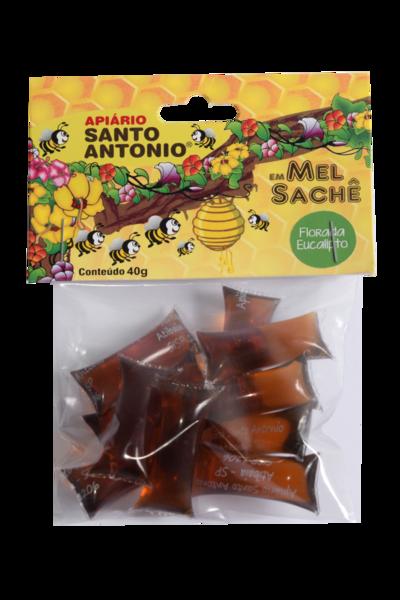Mel de Flores de Eucalipto - Sachê 40g