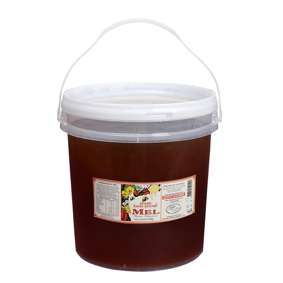 Mel de Flores Silvestres em Balde 4,5 kg