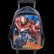 Mochila com Rodas 16 Avengers Fiery -Xeryus