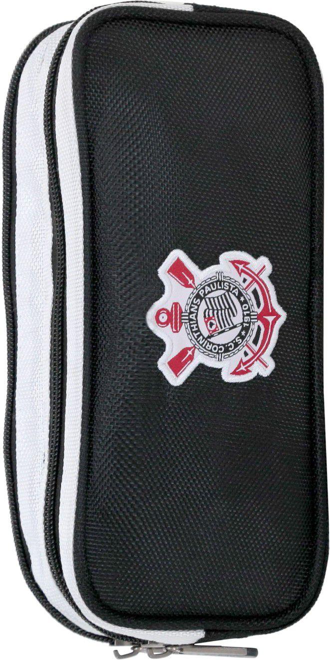 Estojo Corinthians Duplo Xeryus