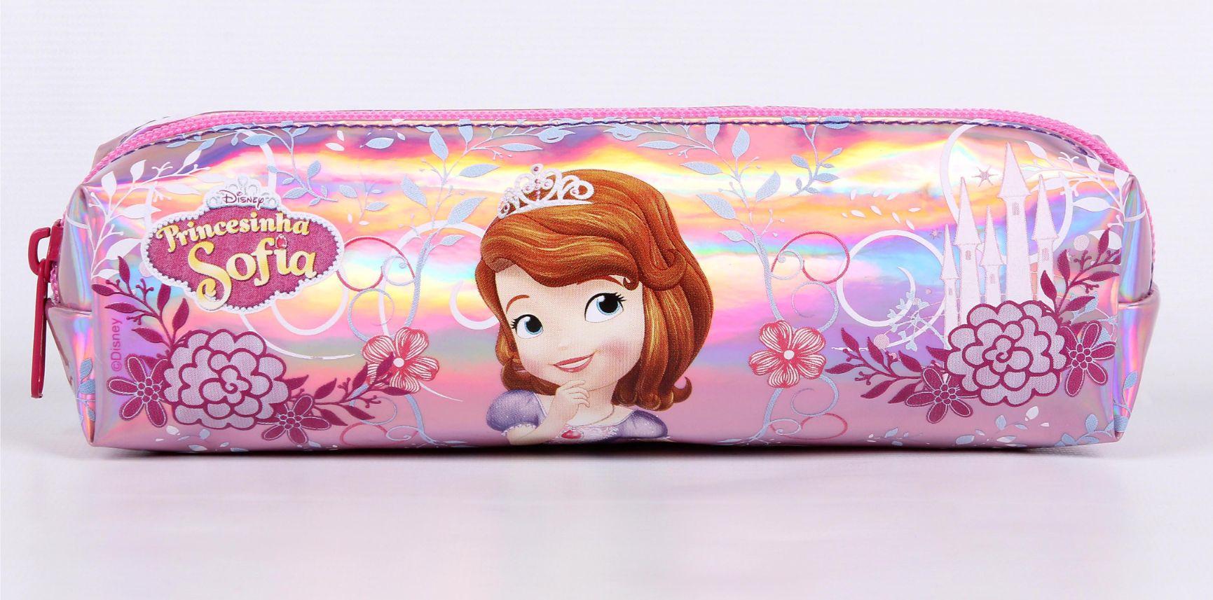 Estojo Soft Disney Princesa Sofia