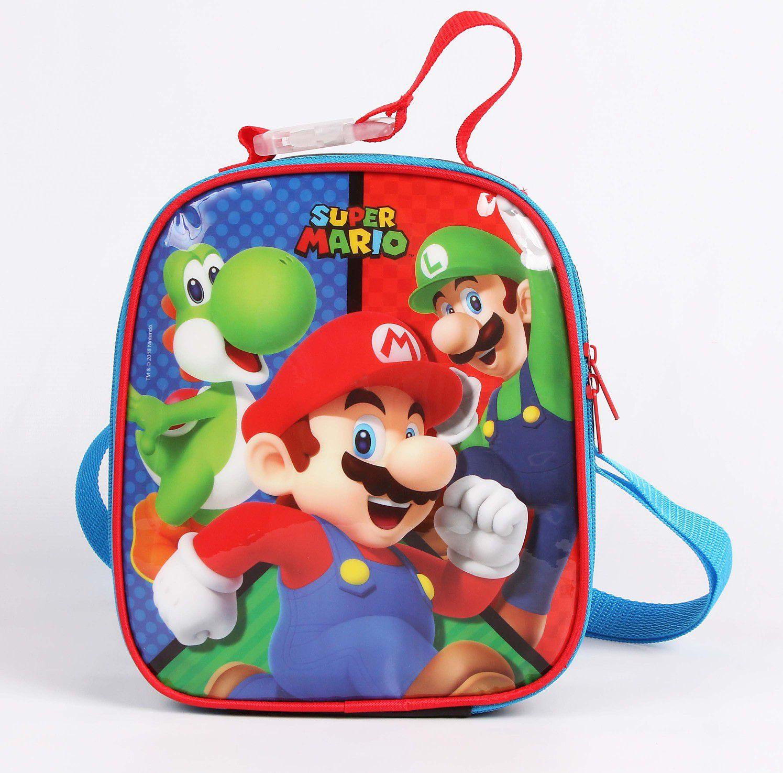 Lancheira Soft Mario Bros