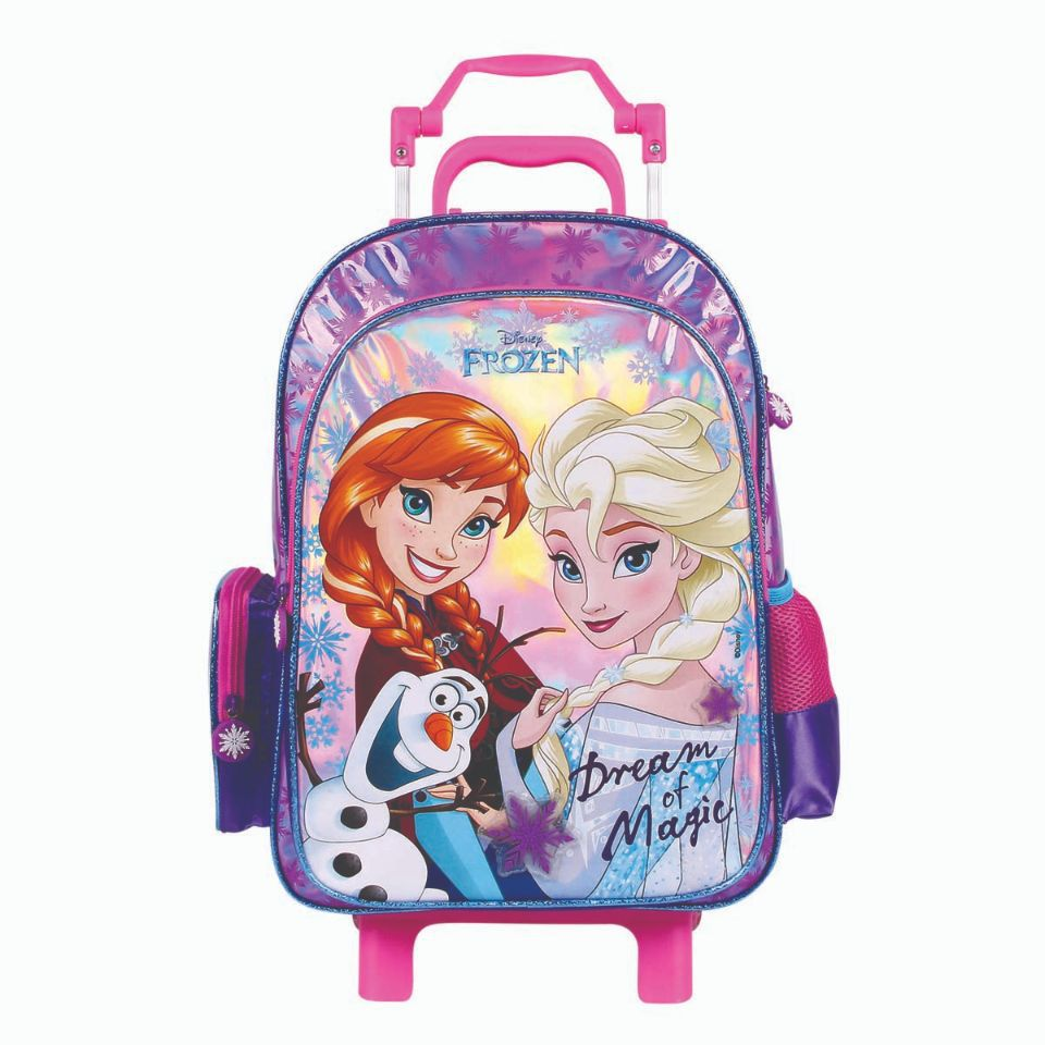 Mala Escolar  com Rodinhas Disney Frozen Dermiwil