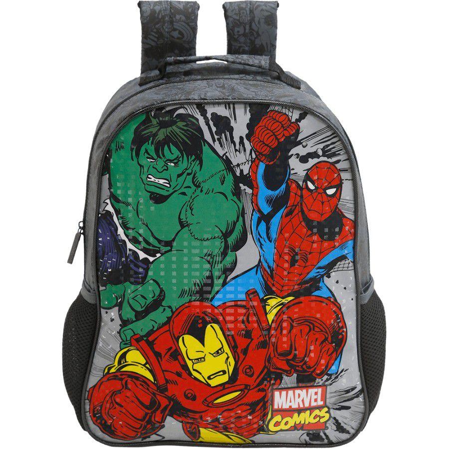 Mochila Escolar 16 Marvel Comics Heroes - 7552