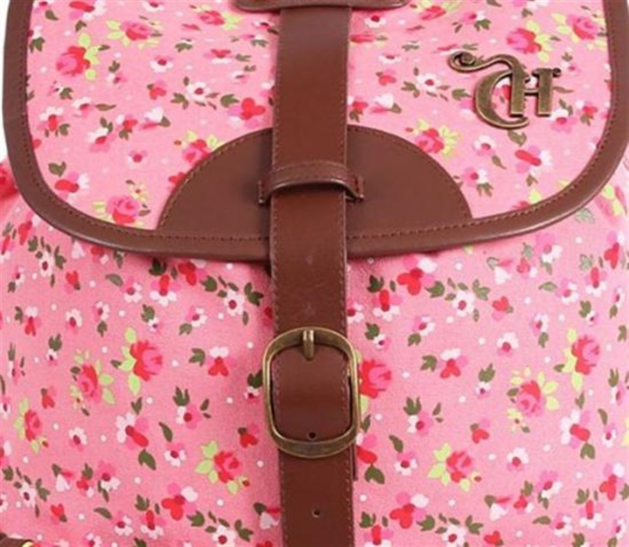 Mochila FemininaCapricho Liberty IV Pink 4 bolsos DMW
