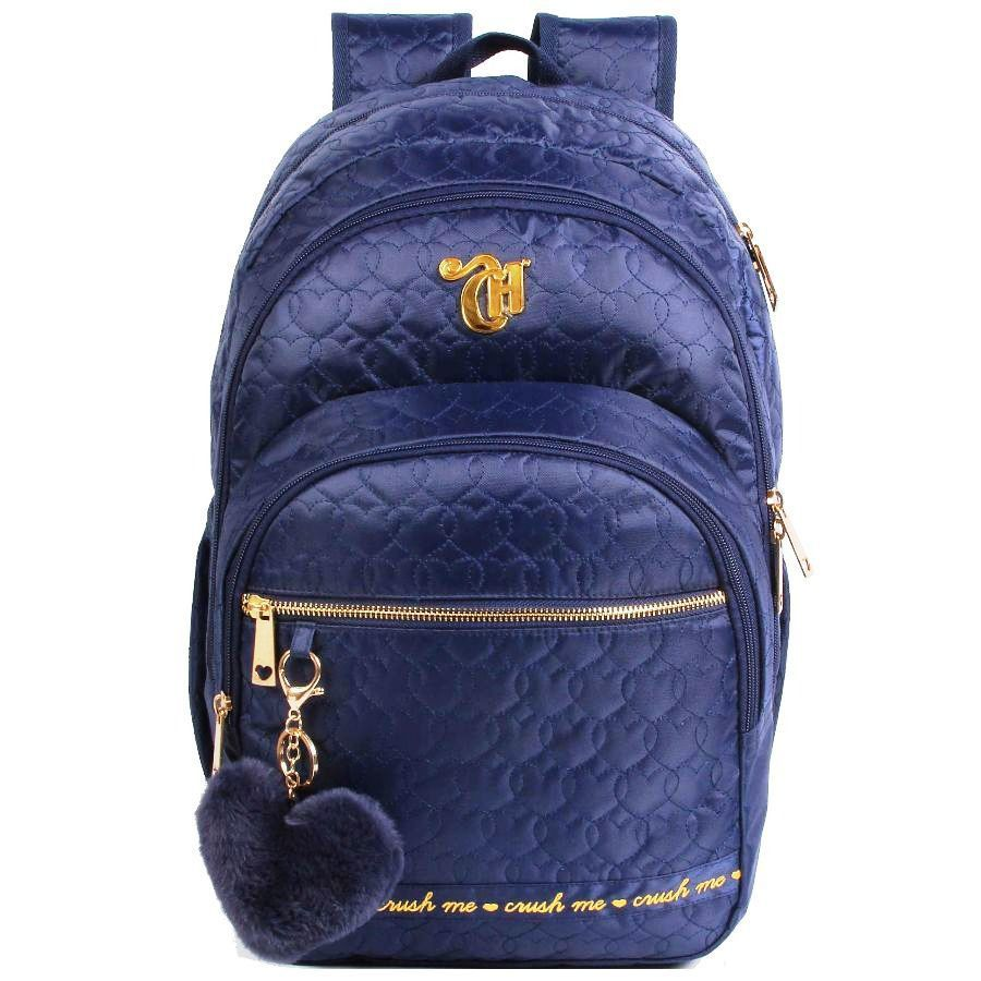 Mochila Capricho Love Crush Blue