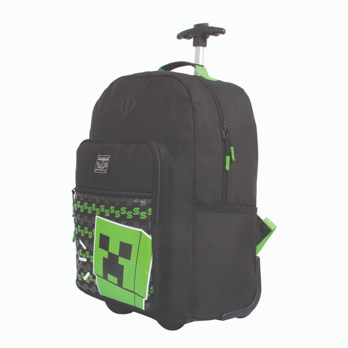 Mochila com rodinhas Minecraft DMW