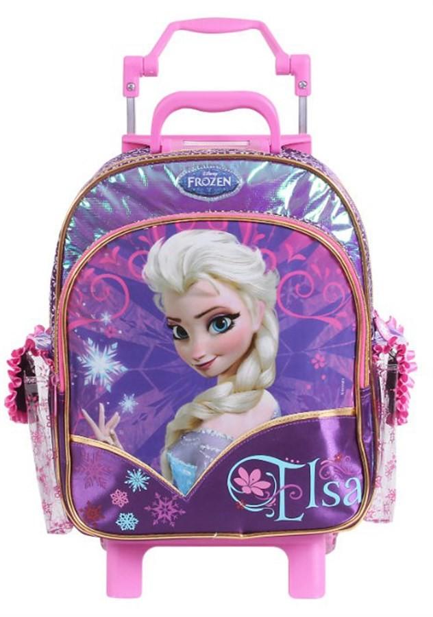 Mochila de Rodinha Elsa Frozen