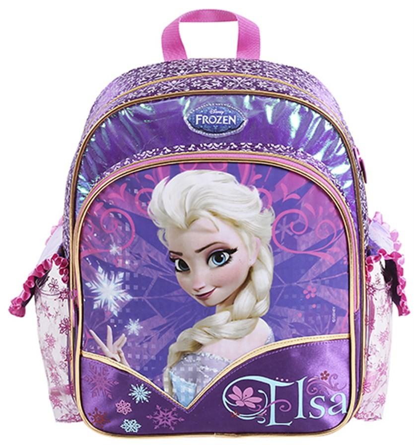 Mochila Frozen Elsa Média Lilás