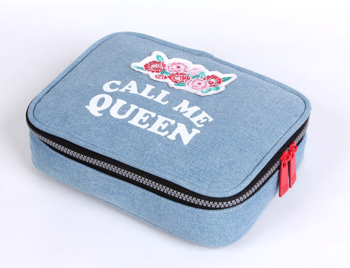 NECESSAIRE SOFT LUXO CALL ME QUEEN DMW
