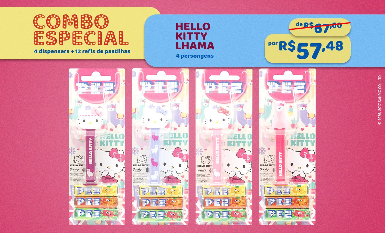 Kit Especial Hello Kitty Lhama