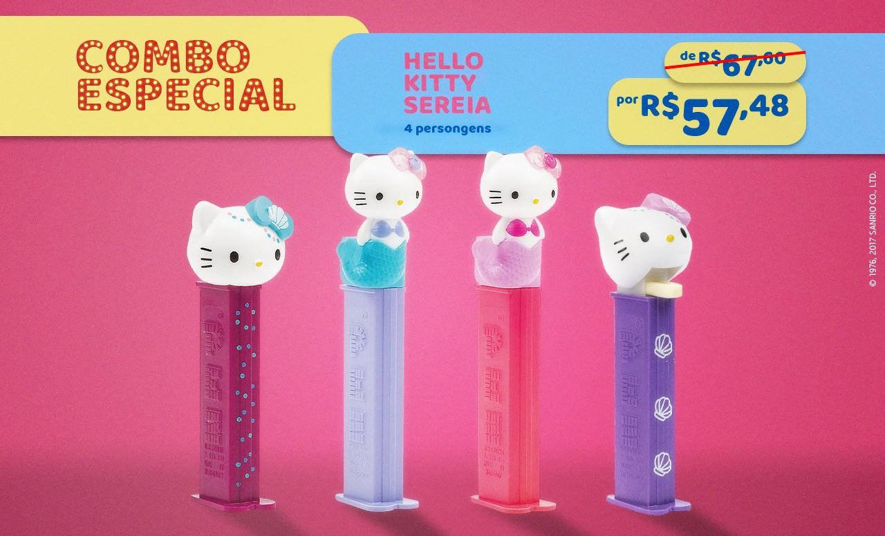 Kit Especial Hello Kitty Sereia