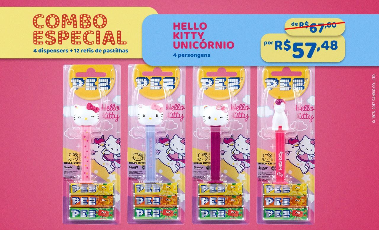 Kit Especial Hello Kitty Unicórnio