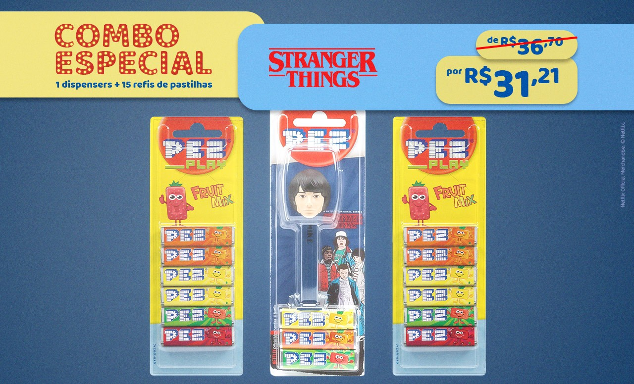 Kit Especial Mike Stranger Things