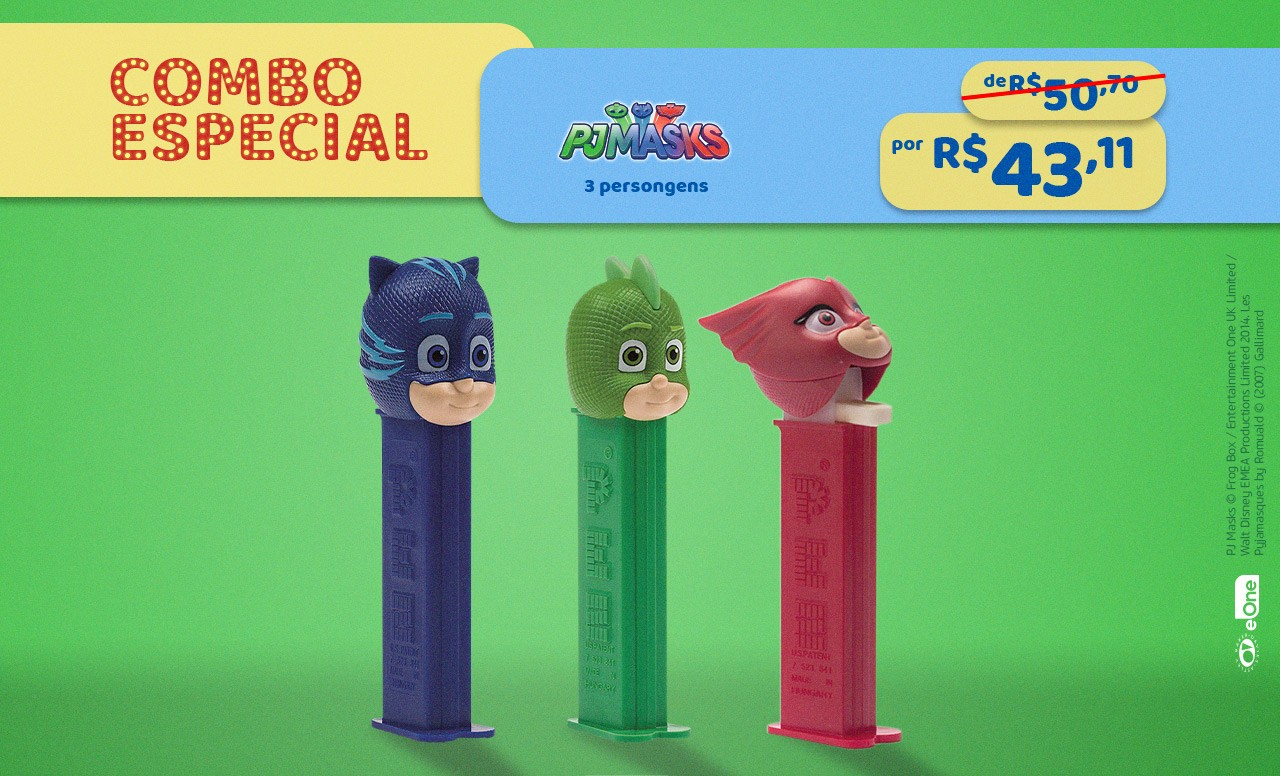 Kit Especial PJ Mask