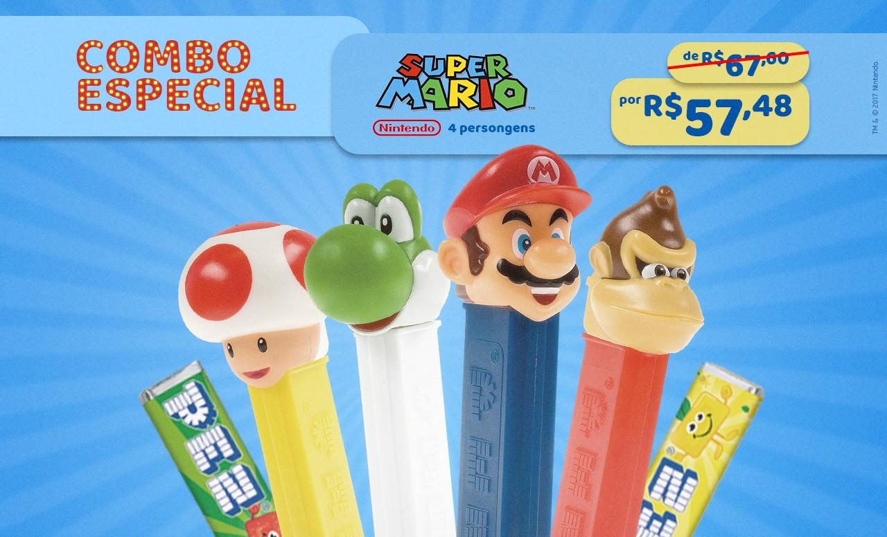 Kit Especial Super Mario