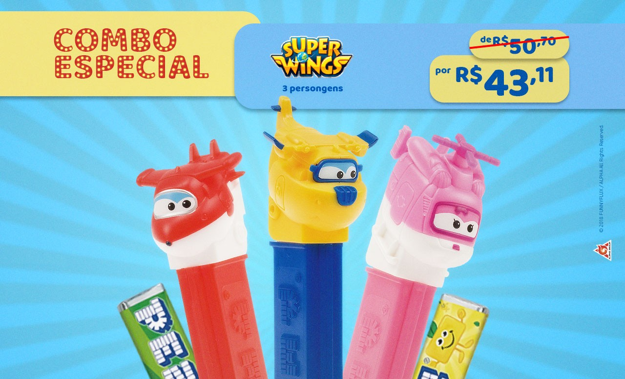 Kit Especial Super Wings