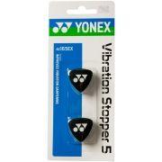 Antivibrador Yonex Logo Preto Com 02 unidades