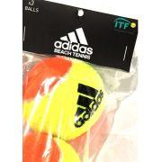 Bola de Beach Tennis Adidas Pack Com 03 Unidades