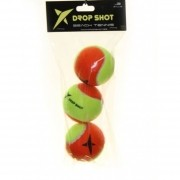 Bola de Beach Tennis Drop Shot Pack Com 03 Unidades