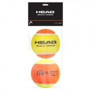 Bola de Beach Tennis Head Pack Com 02 Unidades