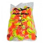 Bola de Beach Tennis Mormaii Premium Saco Com 60 Bolas