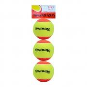 Bola De Beach Tennis Vision Pack Com 03 Bolas