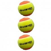 Bola de Beach Tennis Vision Pack Com 03 Unidades