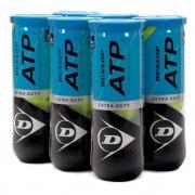 Bola De Tênis Dunlop ATP Pack Com 06 Tubos