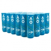 Bola De Tênis Dunlop Australian Open Tubo Caixa Com 24 Tubos