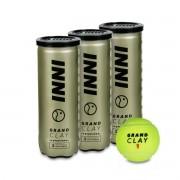 Bola de Tênis Inni Grand Clay - Pack Com 03 Tubos