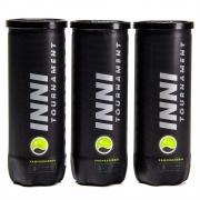 Bola de Tênis Inni Tournament Pack Com 03 Tubos