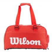 Bolsa Wilson ESP Super Tour Small Duffle Vermelha